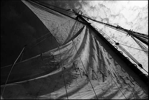 suspended sail