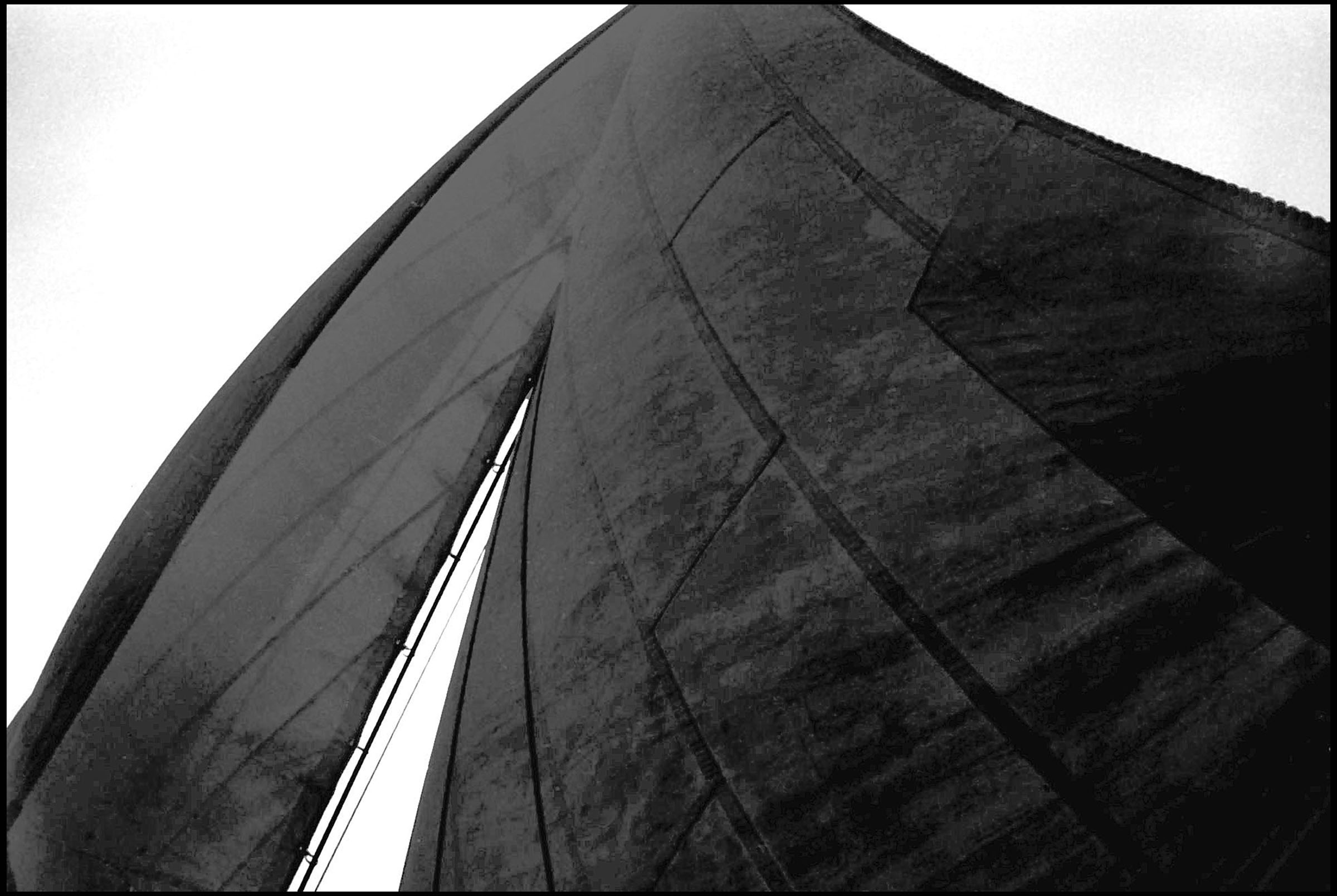 abstract view of sails